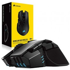 Mouse Gamer Corsair Ironclaw RGB 18000 DPI, 10 Botões Programáveis, Black, CH-9317011-NA