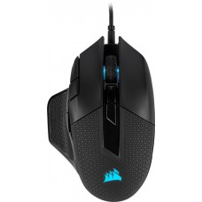 Mouse Gamer Corsair Nightsword RGB 18000 DPI, 8 Botões Programáveis, Black, CH-9306011-NA