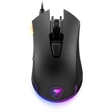 Mouse Gamer Cougar Revenger 3MREVWOI-0001 6 Botões Programáveis 12000 DPI RGB Preto