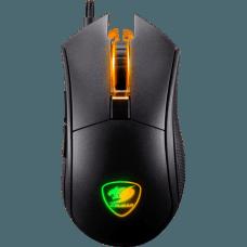 Mouse Gamer Cougar REVENGER S Óptico, 6 Botões Programáveis, 12000 DPI, RGB, Preto, 3MRESWOB.0001