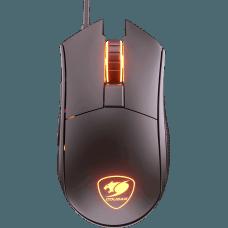 Mouse Gamer Cougar Revenger ST, 6 Botões Programáveis, 5000 DPI, RGB, Preto, 3MRSTWOB.0001