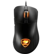 Mouse Gamer Cougar Surpassion 3MSURWOB.0001 7200 DPI RGB Preto