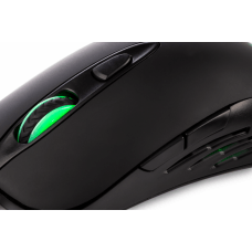 Mouse Gamer Dazz Reload, 3200 DPI, 2 Botões Programáveis, Black