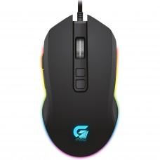 Mouse Gamer Fortrek Pro M3 RGB, 4800 DPI, 7 Botões, Black, 64384