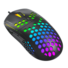 Mouse Gamer Gamemax MG8, 6400 DPI, RGB, Preto