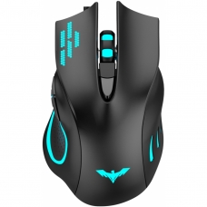 Mouse Gamer Havit Magic Eagle Optical 6 Botões 2400 DPI Preto