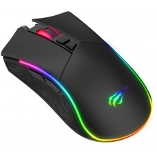 Mouse Gamer Havit MS1001 RGB 7 Botões 4800 DPI Preto