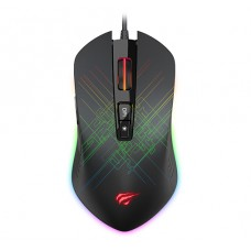 Mouse Gamer Havit MS1019, 4800 DPI, 7 Botões, RGB, Black