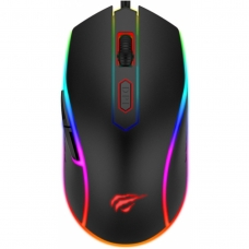 Mouse Gamer Havit MS792 RGB 6 Botões 3200 DPI Preto