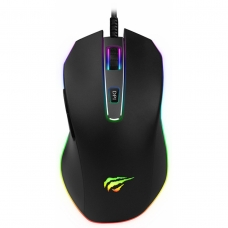 Mouse Gamer Havit MS837 RGB, 7000 DPI, 7 Botões, Black