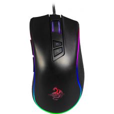 Mouse Gamer Hoopson Nexus RGB, 7200 DPI, 9 Botões, Black, GT300+