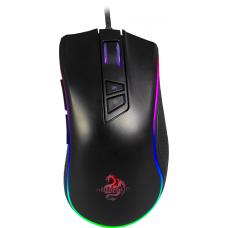 Mouse Gamer Hoopson Nexus RGB, 7200 DPI, 9 Botões, Preto, GT300+