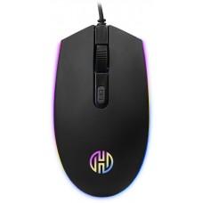 Mouse Gamer Hoopson RGB, 2400 DPI, 4 Botões, Black, GT1200