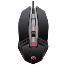 Mouse Gamer HP M270, 2400 DPI, 5 Botões, LED, Black