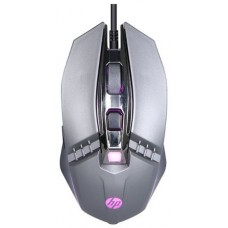 Mouse Gamer HP M270, 2400 DPI, 5 Botões, LED, Gray