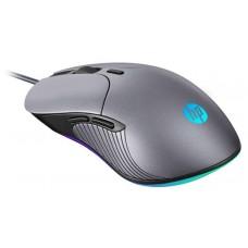 Mouse Gamer HP M280, 6400 DPI, LED RGB, 6 Botões Programáveis, Chumbo