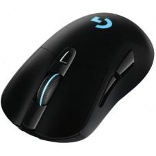 Mouse Gamer Logitech G703 Hero 16K Sem Fio, RGB, 16000 DPI, Black, 910-005639