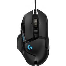Mouse Gamer Logitech Hero G502 RGB 11 Botões 16000 DPI Ajuste de Peso Black - Open Box