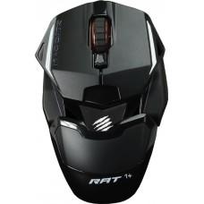 Mouse Gamer Mad Catz RAT 1+, 2000 DPI, 4 Botões, Black, MR01MCAMBL00