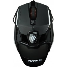 Mouse Gamer Mad Catz RAT 2+, 5000 DPI, 5 Botões, Black, MR02MCAMBL00