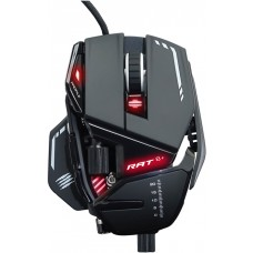 Mouse Gamer Mad Catz RAT 8+, 16000 DPI, 11 Botões, Black, MR05DCAMBL00