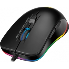 Mouse Gamer Marvo M508, Rainbow, 3200 DPI, 6 Botões, Black