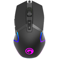 Mouse Gamer Marvo Scorpion G941, 12000DPI, 9 Botões, RGB, Black