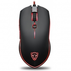 Mouse Gamer Motospeed V40 FMSMS0004PTO 4000 DPI RGB Preto