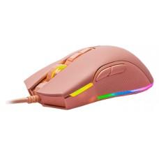 Mouse Gamer Motospeed V70 Essential Rosa, 7000 DPI, RGB, 7 Botões, Rosa, FMSMS0085RSA