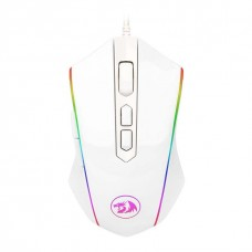 Mouse Gamer Redragon MEMEANLION CHROMA, 10000 DPI, 8 Botões, White, M710W-RGB