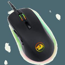 Mouse Gamer Redragon Stormrage Black M718 RGB, 10000 DPI, 7 Botões Programáveis, Black