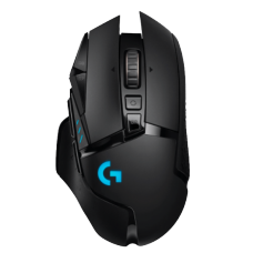 Mouse Gamer Wireless, Logitech G502 Lightspeed, 16.000 DPI, 11 Botões, Black, 910-005566
