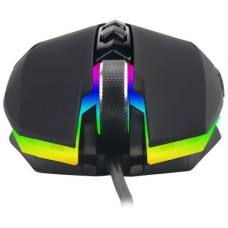 Mouse Gamer T-Dagger Lieutenant RGB 8000 DPI, 7 Botões Programáveis, Black