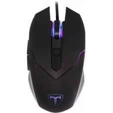 Mouse Gamer T-Dagger T-TGM107 RGB 3200 DPI 6 Botões, Black - Open Box