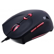Mouse Gamer Thermaltake Theron, 4000DPI, 8 Botões, Black e Red MO-TRN006DTM