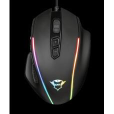 Mouse Gamer Trust Celox, RGB, 10000 DPI, 8 botões programáveis, GXT165