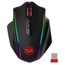 Mouse Gamer Wireless Redragon Vampire Elite, DPI 16.000, 8 Botões, RGB, Black, M686RGB