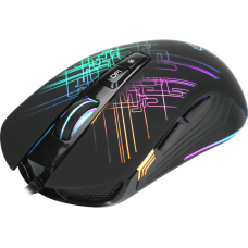 Mouse Gamer Xtrike-Me GM-510, RGB, 7 Botões 6400 DPI, Black