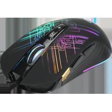 Mouse Gamer Xtrike-Me GM-510, RGB, 7 Botões 4800 DPI, Black
