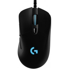 Mouse Logitech Gamer G403 Hero RGB, 6 Botões, 16000 DPI, Black, 910-005631