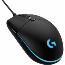 Mouse Logitech Gamer Pro Hero RGB 6 Botões 16000 DPI Preto