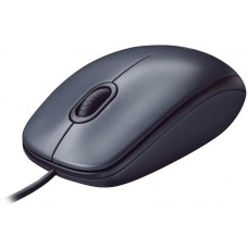 Mouse Logitech M100 1000 DPI, Optico, USB, Black, 910-001601-H