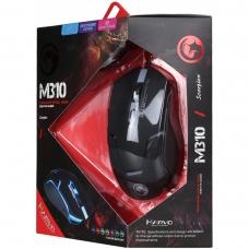 Mouse Marvo Gamer M310 Wired 6 Botões 2400 DPI LED 7 Cores