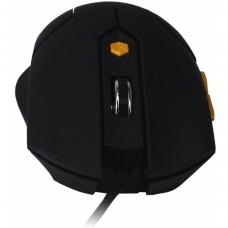 Mouse Óptico Maxxtro JM-1201/BK USB 6 Botões 1600 DPI Preto