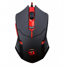 Mouse Gamer Redragon Centrophorus M601-3, 3200 DPI, 6 Botões, Led Red