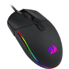 Mouse Gamer Redragon Invader M719 RGB, 5000DPI, 8 Botões, Black