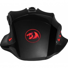 Mouse Gamer Redragon Phaser M609 RGB, 3200 DPI, 6 Botões, Black