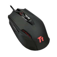 Mouse Gamer Thermaltake eSports, 4000 DPI, Black, MOBLK002DT