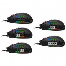 Mouse Gamer Thermaltake TT Esports Nemesis Optical RGB, MO-NMS-WDOOBK-01