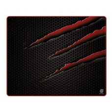 Mousepad Gamer Dazz Nightmare Control P, Pequeno, Black/Red
